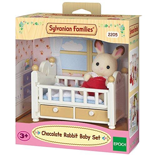 sylvanian-families-2205-bebe-lapin-poupees-et-accessoires-chocolat-lit