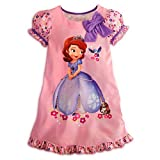 Disney Junior Princess Sofia The First Nightshirt Nightgown Pajama 2 3 4 5 6 7 8 10