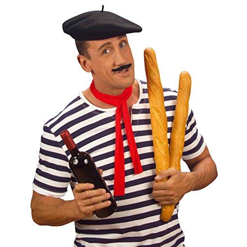 Baskenmtze-Hut-Franzose-Franzosenhut-Basken-Mtze-Franzosen-Hut-Baske-Kopfbedeckung-Ingo-Frankreich-Kostm-Zubehr
