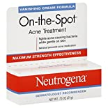 Neutrogena On-the-Spot Acne Treatment, Maximum Strength, Vanishing Cream Formula, 0.75 oz (21 g)