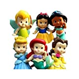 Chunky Baby Toddler Princess 2 Figures Pack of 12