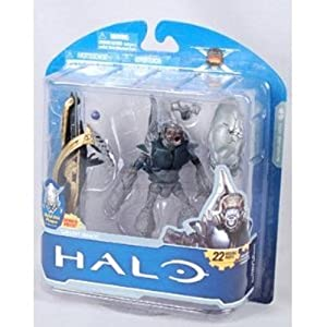 Halo Anniversary Halo 3 - Grunt Spec Ops With Elite Skull Action Figure