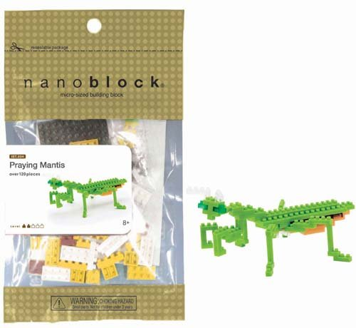 Nanoblock Praying Mantis