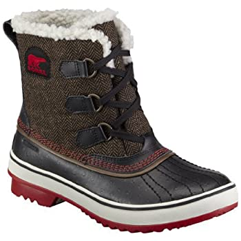 Meet the life of your winter wardrobe with the TIVOLI HERRINGBONE boot from SOREL.