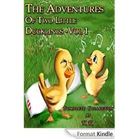 The Adventures Of Two Little Ducklings - Vol 1 (Collection of 5 Stories;Perfect for Bedtime;Beautifully Illustrated Children's Picture Book) (English Edition)