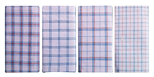 Cotton-Lungi-Assorted-White-Checks-2-Mtr-Pack-of-4