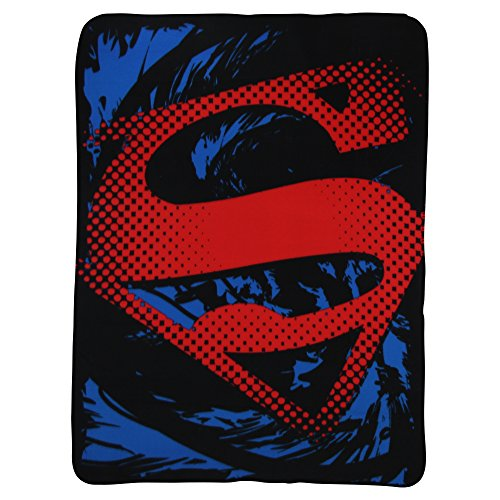 Superman Logo Kids Fleece Throw Blanket