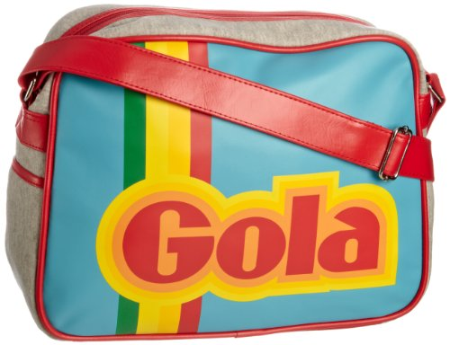 Gola Redford Arcade Sports Bag Blue/Multi - available in three retrotastic designs