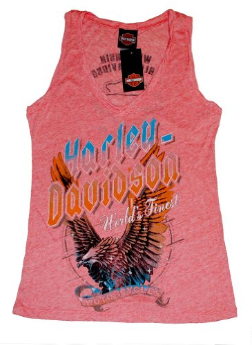 Harley-Davidson Women's Vengeance Tank Top Pink 30293122