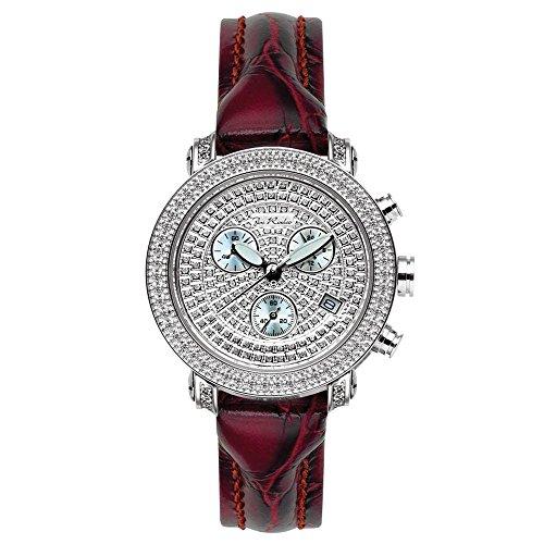 Reloj de mujer de Joe Rodeo Diamond - PASSION plata 0.6 CTW