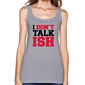 Women's Custom Dont Talk ISH Geek Top