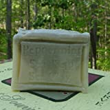 Natural Handcrafted Peppermint Soap Bar Face and Body Skin Care