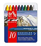 Caran dAche Classic Neocolor II Water-Soluble Pastels, 10 Colors