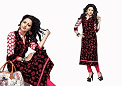 RR Fashion Women's Cotton KURTI (RRF3008_MULTICOLOUR)