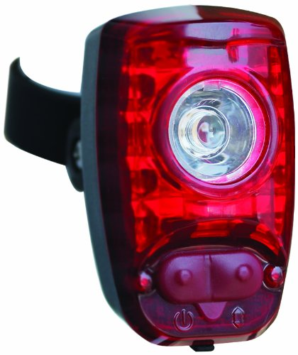 Cygolite Hotshot 2-Watt USB Rechargeable Taillight with USB Cable and Charger