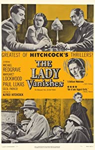 The Lady Vanishes Movie Poster (11 x 17 Inches - 28cm x 44cm) (1938) Style B -(Margaret Lockwood)(Paul Lukas)(Michael Redgrave)(May Whitty)(Googie Withers)(Basil Radford)
