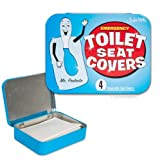 Emergency Toilet Seat Covers - Perfect size for your purse!