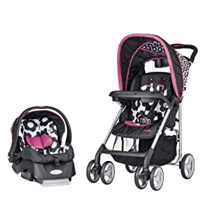 Evenflo JourneyLite Travel System with Embrace, Marianna