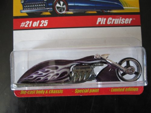 Pit Cruiser (Spectraflame Purple) 2005 Hot Wheels Classics Series 1 #21 - 1