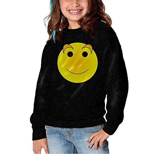 [Melon Funny Face Long Sleeve Round Neck Warm Sweatshirts Shirts For Toddler Kids] (Roomba Costume Pattern)