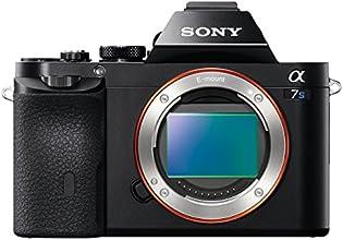 Sony Alpha 7S Fotocamera Compatta con Ottiche Intercambiabili, Sensore CMOS Exmor Full-Frame da 12,2 Megapixel, Nero