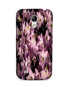 Bagsfull Designer Printed Matte Hard Back Cover Case for Samsung Galaxy S4 MINI 9190