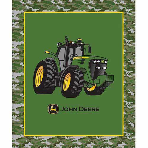 """John Deere 46"""" X 60"""" Throw Blanket"""