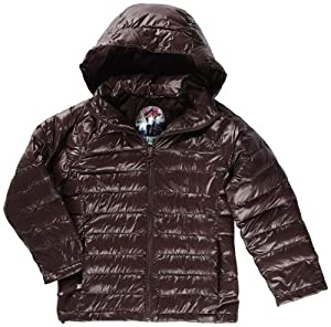 Protest Lois Jr. Jacket Doudoune fine fille Brown Earth FR : 8 ans (Taille Fabricant : 128)