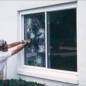 "Mil Security Window Film 30"" Wide x 6.5 ft. Roll - Window Dressing"