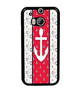 PrintDhaba Anchor D-4280 Back Case Cover for HTC ONE M8s (Multi-Coloured)