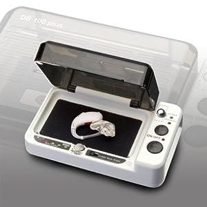 Audioline amplicomms Trocknungsbox DRY BOX DB100plus mit Batterietester