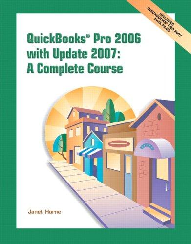 QuickBooks Pro 2006 W/Update 07: AND Update 2007