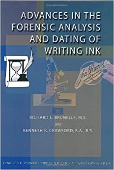 forensic ink dating Sgs-ips can determine likely age ranges for paper products by using wood fibers, pulping chemistry and known chemical additives to serve as dating markers.