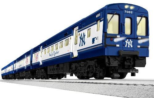 New York Yankees / Mets Subway Ready-To-Run Train Set