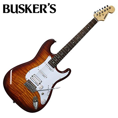 BUSKER'S BST-2H/FM HB エレキギター STタイプ (バスカーズ BST2HFM)