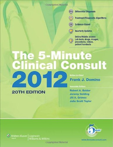 The 5-Minuteclinical Consult 2012 Premium (The 5-Minute Consult Series)