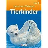 LeseLernWissen - Tierkinder: Stufe 1 für Erstleser