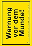 Rene Sydow �Warnung vor dem Munde!: Poetisches Kabarett mit Zugabe (Edition MundWerk)� bestellen bei Amazon.de