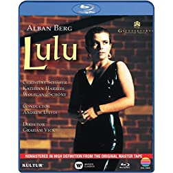 Berg: Lulu at Glyndebourne / Starring Christine Schafer [Blu-ray]