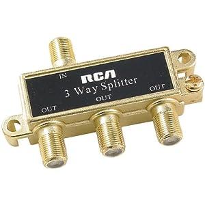 RCA VH48 Splitters (3-way)