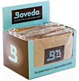 Boveda 75-Percent RH Retail Cube Humidifier/Dehumidifier, 60gm, 12-Pack