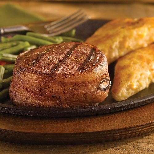 Omaha Steaks 4 (6 oz.) Bacon-Wrapped Filet Mignons
