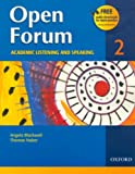 img - for Open Forum 2 Student Book: Academic Listening and Speaking book / textbook / text book