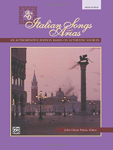 26-italian-songs-arias-med-high-bk-voix-haute-ou-moyenne-piano-paton-john-glenn-editor-alfred-publis