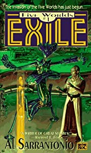 Exile (Five Worlds) by Al Sarrantonio and Donato Giancola