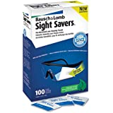 Bausch amp;amp; Lomb Sight Savers Pre Moistened Lens Cleaning Tissue - 100 Per Box