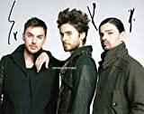 LIMITED EDITION 30 SECONDS TO MARS SIGNED PHOTO + CERT PRINTED AUTOGRAPH SIGNATURE SIGNED SIGNIERT AUTOGRAM