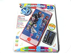 Art box my first little Frozen 3D smartphone ultra clear/ multifunctional child phone/educational phone/ recording facilty
