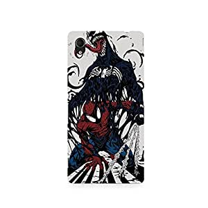 TAZindia Printed Hard Back Case Cover For Sony Xperia M4