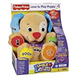 Fisher Price Laugh and Learn Love To Play Puppy Toy 6 - 36 Months